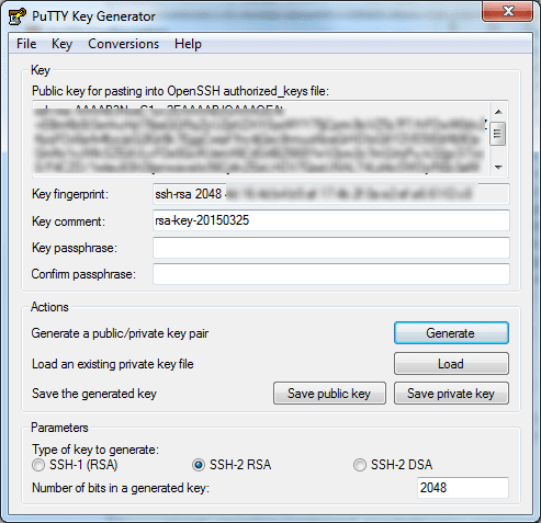 2015 03 25 1259 - How To Convert rsa Private Key to ppk Allow PuTTY SSH without Password