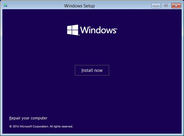 Windows 10 - repair your computer