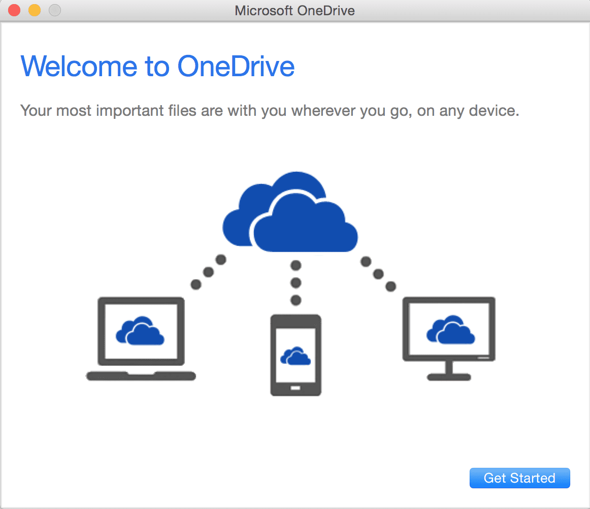 How To Troubleshoot OneDrive Can't Start on Mac OS X - Next of Windows
