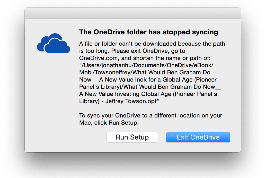 How To Troubleshoot OneDrive Can't Start on Mac OS X - Next