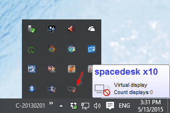 SpaceDesk server - How To Use Surface Tablet or Any Laptop as Second Monitor in Windows