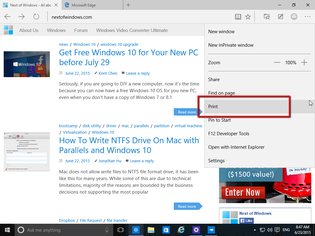 3 ways to save web page as pdf in windows 10 next of windows for Windows 10 site