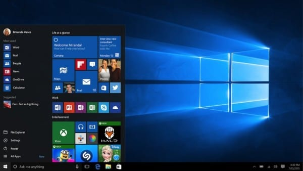 W10 Laptop Start MiniStart 16x9 en US 042315 1024x576 600x338 - The Windows 10 Default Desktop Wallpaper Unveiled