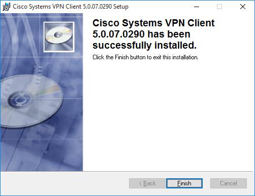 How To Fix Cisco VPN Installation Error 27850 on Windows 10