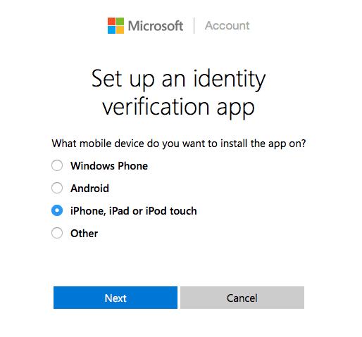 Microsoft Verification