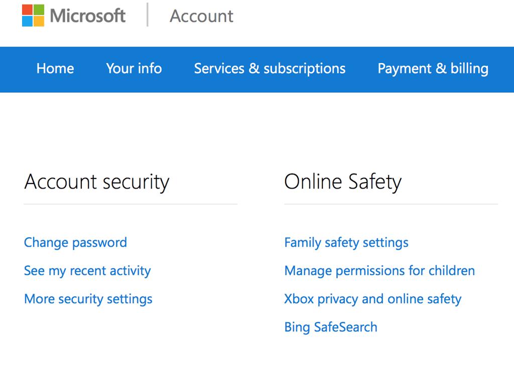 setup microsoft account
