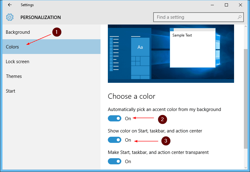 windows 10 change lock screen background 3