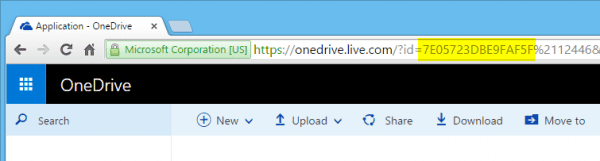 OneDrive cid number 600x161 - Placeholders are Gone from OneDrive in Windows 10, What To Do?