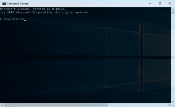 Command Prompt transparent window