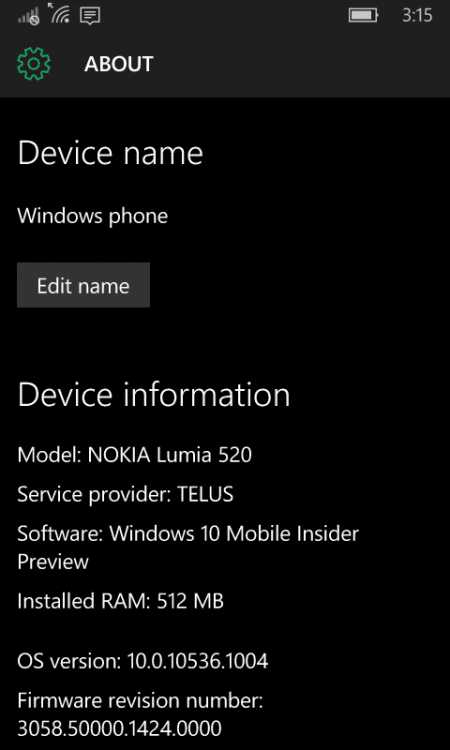 wp ss 20150930 0001 450x750 - Fix Windows 10 Mobile Update Error 0x80240022