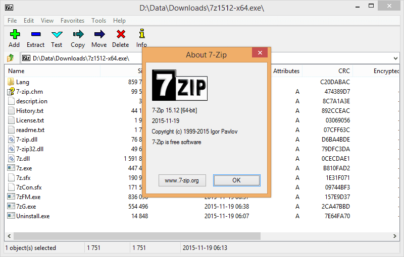 free 7 zip software for windows 7