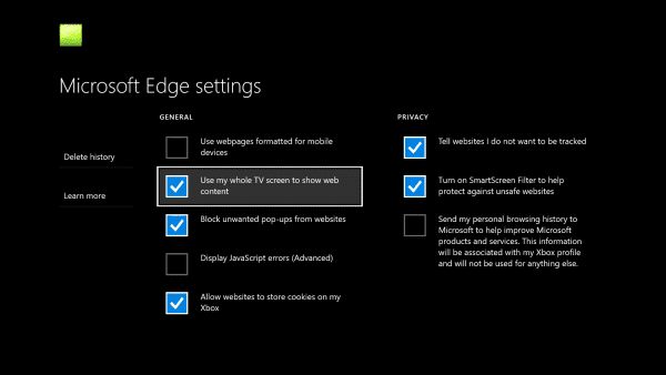 Maximize Microsoft Edge Browser On Xbox One Nextofwindows Com