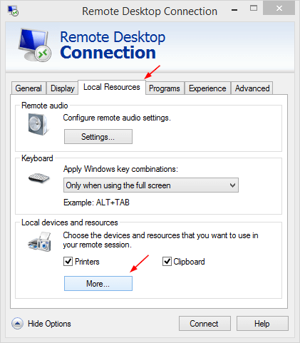 How To Access Local Drive Files from Remote Desktop Session - Next