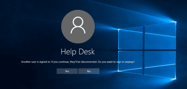 Remote Desktop Connection 2015 12 23 23 18 19 600x286 - How To Allow Multiple Concurrent Remote Desktop Sessions in Windows 10