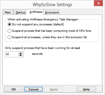 WhySoSlow Settings 2016 01 07 22 51 53 - Wondering Why Your PC is Running So Slow? This Tool May Tell You Why