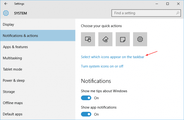 Windows 10 settings notifications 600x393 - How To Adjust Audio Volume For Each Application in Windows 10