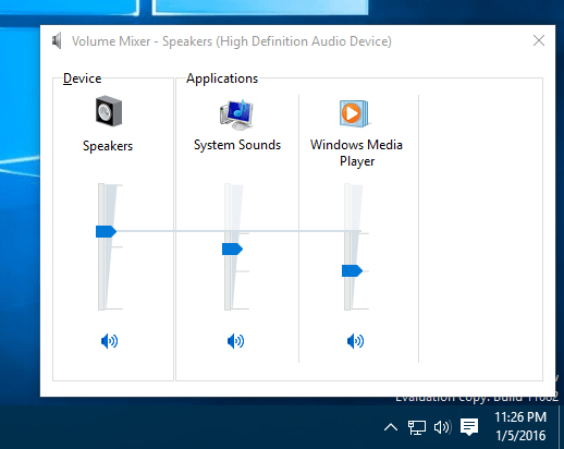 Windows 10 volume mixer - How To Adjust Audio Volume For Each Application in Windows 10