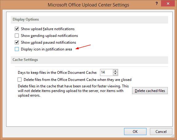Microsoft Office Upload Center Settings - 2016-02-03 23_22_03