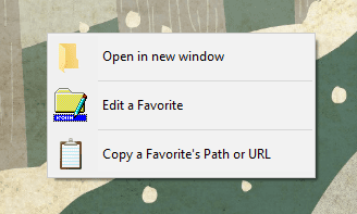 Quick Access Popup alternative menu - Open Folders Anywhere From the Desktop with A Mouse Middle-Click
