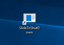 SlideToShutDown shortcut