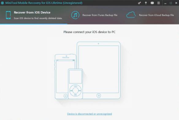 MiniTool DataRecovery for iOS