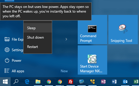 Windows 10 Tip: How To Put Computer in Sleep Mode from Command Line