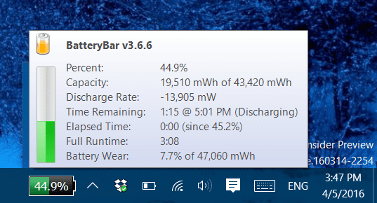 BatteryCare - 4 Tools to Gather Detail Information about Battery Life on Windows