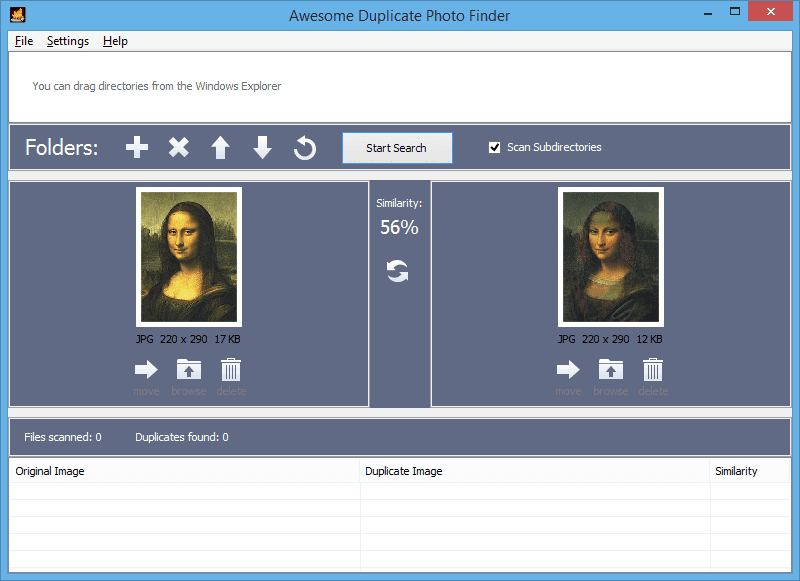 awesome duplicate photo finder free download