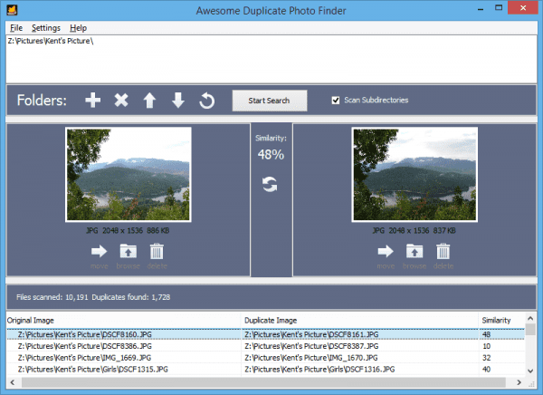 Awesome Duplicate Photo Finder 2016 05 13 23 14 24 600x436 - The Awesome Duplicate Photo Finder