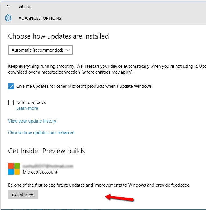 Windows 10 How To Join Insider Preview Build - Next of Windows