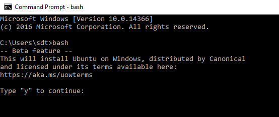 2016 06 23 0942 thumb - Get Started Windows 10 & Windows Subsystem for Linux
