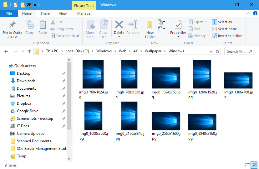 Where Are Windows 10 Default Wallpapers Saved Next Of Windows