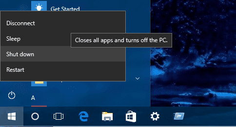 How To Shutdown or Restart A Windows PC from Remote Desktop Session