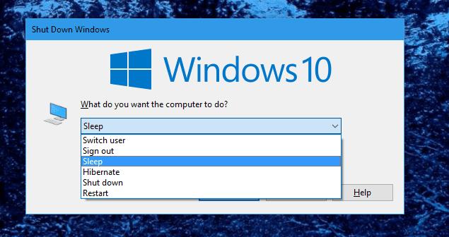 Command Lines to Put Windows into Sleep or Hibernate Mode