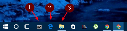 Windows 10 taskbar number - Less Known but Useful Keyboard Shortcuts in Windows 10