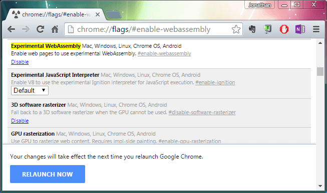 How To Enable WebAssembly In Chrome - Next of Windows