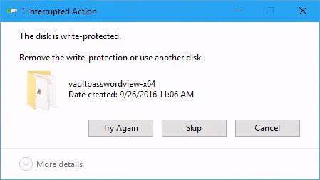Disk Write Protected - How To Enable USB Write Protection on Windows 10