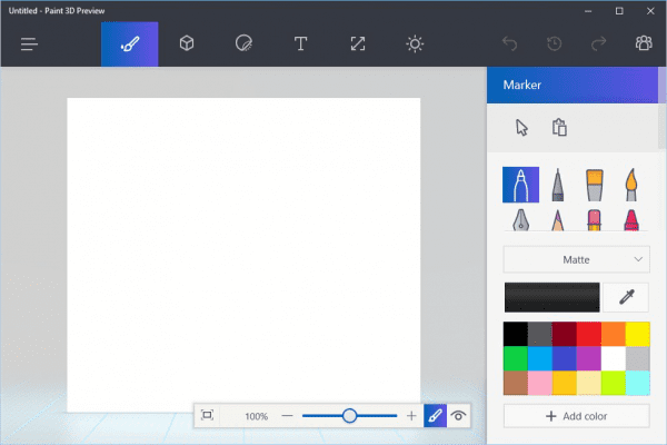 Paint 3D 600x400 - Windows 10 Creator Update Insider Preview Build 14971 Released for PC in Fast Ring