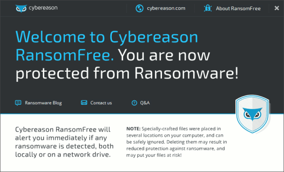 Cybereason RansomFree 600x363 - RansomFree to Protect Your PC From All Kinds of Ransomware