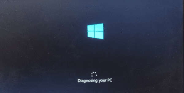 Diagnosing your PC 600x305 - Windows 10 Tip: How To Get Access to the Advanced Boot Options Menu