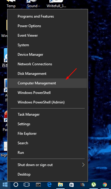 Win X Menu to open Computer Management - Windows 10 Tip: How To Get A List of Local User Accounts