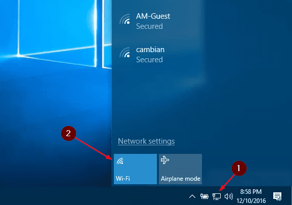 Windows 10 Tip: How To Schedule to Turn On WiFi Connection Automatically -  Next of Windows