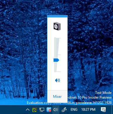 Windows 10 new windows 7 style volume control - Windows 10 Trick: How To Bring Back Windows 7 Style Volume Control