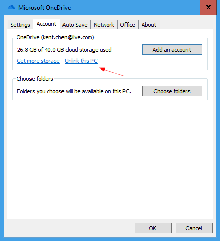 How To Change Default OneDrive File Location on Windows 10 - Next of