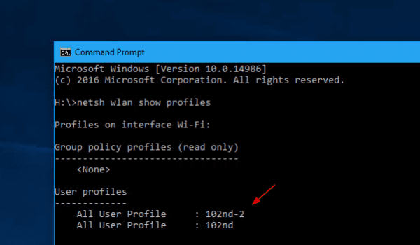 Netsh wifi profiles 600x350 - How To Change Wi-Fi Network Connection Priority in Windows 10