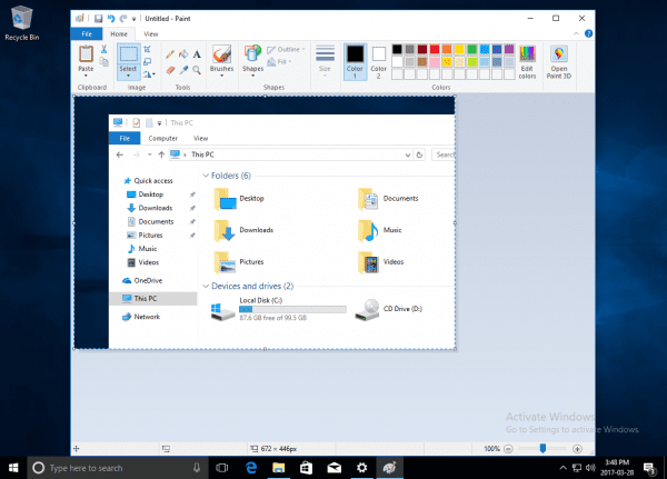 2017 03 28 1549 600x431 - Windows + Shift + S New Way To Take Screenshots - Windows 10 Creators Update
