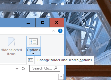File Explorer View Options - Disabling OneDrive Ads from Displaying in File Explorer in Windows 10