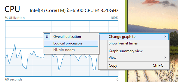 Windows 10 Quick Tip: How To Display All CPU Cores