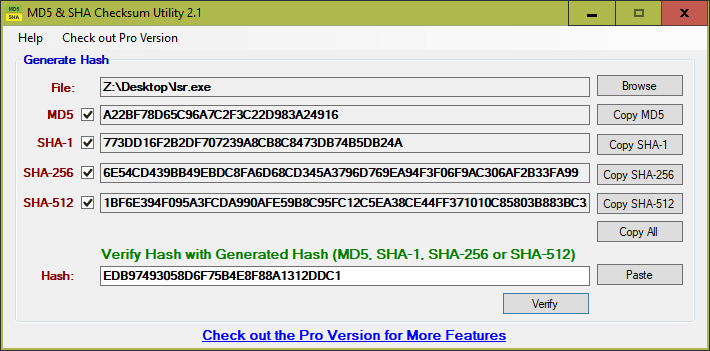 5 Ways to Generate and Verify MD5 SHA Checksum of Any File in