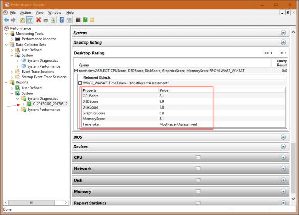 Performance Monitor Desktop Rating Scores 600x432 - Getting Windows Experience Index Score on Windows 10